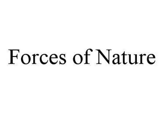 mark for FORCES OF NATURE, trademark #78417094