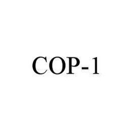 mark for COP-1, trademark #78419118