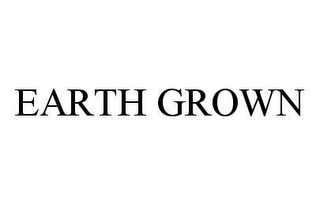 mark for EARTH GROWN, trademark #78419242