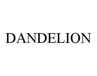 mark for DANDELION, trademark #78420040