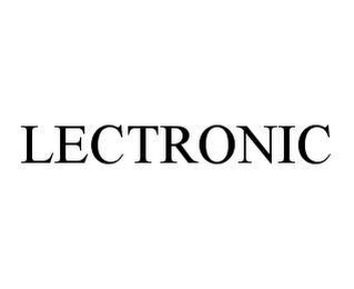 mark for LECTRONIC, trademark #78422148
