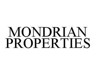 mark for MONDRIAN PROPERTIES, trademark #78422406