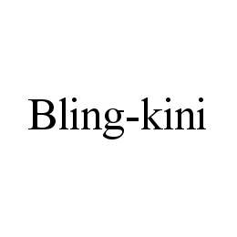 mark for BLING-KINI, trademark #78422872