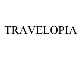 mark for TRAVELOPIA, trademark #78423649