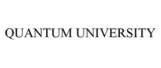 mark for QUANTUM UNIVERSITY, trademark #78424148