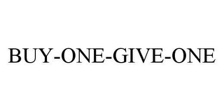 mark for BUY-ONE-GIVE-ONE, trademark #78424578