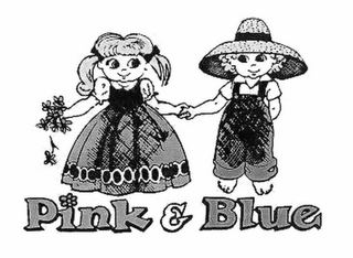 mark for PINK & BLUE, trademark #78424757