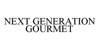 mark for NEXT GENERATION GOURMET, trademark #78424852