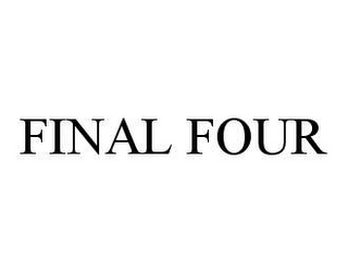 mark for FINAL FOUR, trademark #78424909