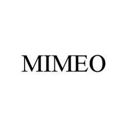 mark for MIMEO, trademark #78426078