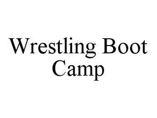 mark for WRESTLING BOOT CAMP, trademark #78427252