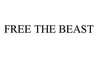 mark for FREE THE BEAST, trademark #78428038