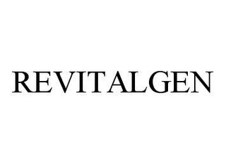 mark for REVITALGEN, trademark #78428072