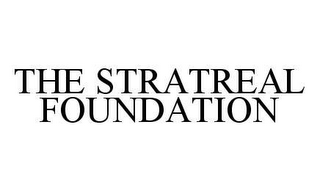 mark for THE STRATREAL FOUNDATION, trademark #78428775