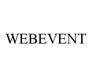 mark for WEBEVENT, trademark #78429365