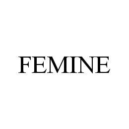 mark for FEMINE, trademark #78430182
