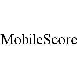 mark for MOBILESCORE, trademark #78432020