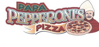 mark for PAPA PEPPERONI'S PIZZA, trademark #78432598