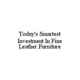mark for TODAY'S SMARTEST INVESTMENT IN FINE LEATHER FURNITURE, trademark #78432633