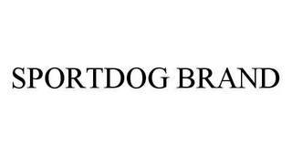 mark for SPORTDOG BRAND, trademark #78433206