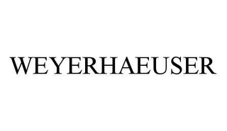 mark for WEYERHAEUSER, trademark #78433290