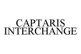 mark for CAPTARIS INTERCHANGE, trademark #78434179