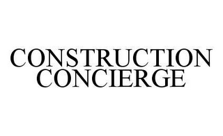 mark for CONSTRUCTION CONCIERGE, trademark #78434953