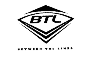mark for BTL BETWEEN THE LINES, trademark #78435375