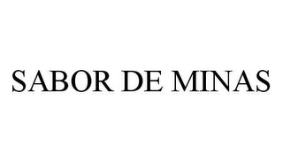 mark for SABOR DE MINAS, trademark #78435562