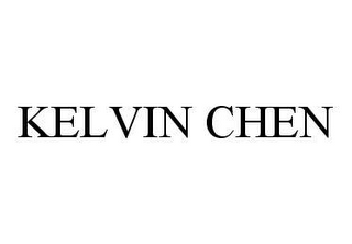 mark for KELVIN CHEN, trademark #78436370