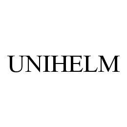 mark for UNIHELM, trademark #78436376