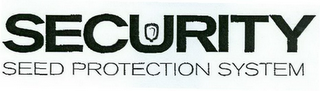mark for SECURITY SEED PROTECTION SYSTEM, trademark #78437740