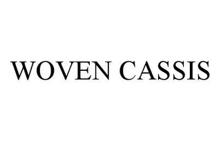 mark for WOVEN CASSIS, trademark #78438046