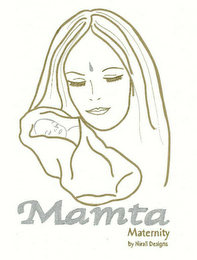 mark for MAMTA MATERNITY BY NIRALI DESIGNS, trademark #78438107