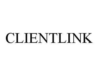 mark for CLIENTLINK, trademark #78438450