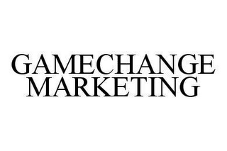 mark for GAMECHANGE MARKETING, trademark #78438603