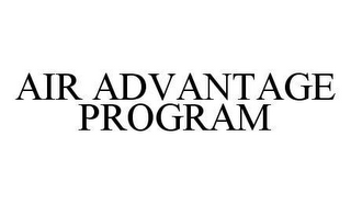 mark for AIR ADVANTAGE PROGRAM, trademark #78440450