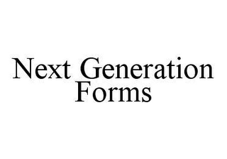 mark for NEXT GENERATION FORMS, trademark #78440591