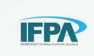 mark for IFPA INDEPENDENT FUNERAL PLANNING ALLIANCE, trademark #78441322