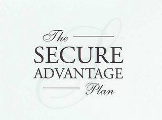 mark for THE SECURE ADVANTAGE PLAN, trademark #78441345