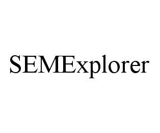 mark for SEMEXPLORER, trademark #78441554