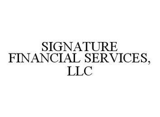mark for SIGNATURE FINANCIAL SERVICES, LLC, trademark #78441935
