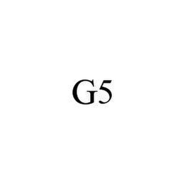 mark for G5, trademark #78442066
