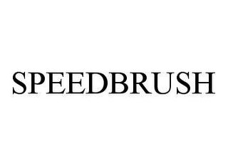 mark for SPEEDBRUSH, trademark #78443050