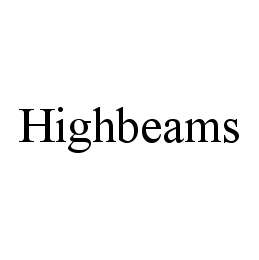 mark for HIGHBEAMS, trademark #78444272