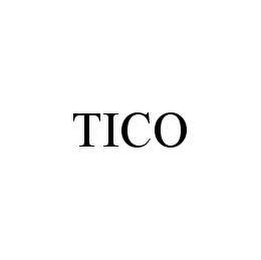 mark for TICO, trademark #78445149