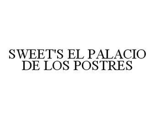 mark for SWEET'S EL PALACIO DE LOS POSTRES, trademark #78445414