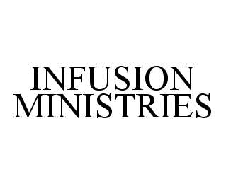 mark for INFUSION MINISTRIES, trademark #78445421