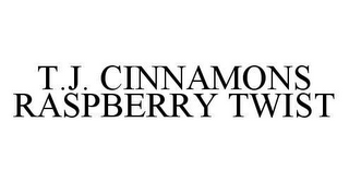 mark for T.J. CINNAMONS RASPBERRY TWIST, trademark #78445543