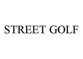 mark for STREET GOLF, trademark #78445730
